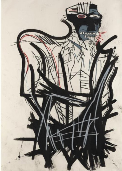 Jean-Michel Basquiat-Untitled (Venom)-1982