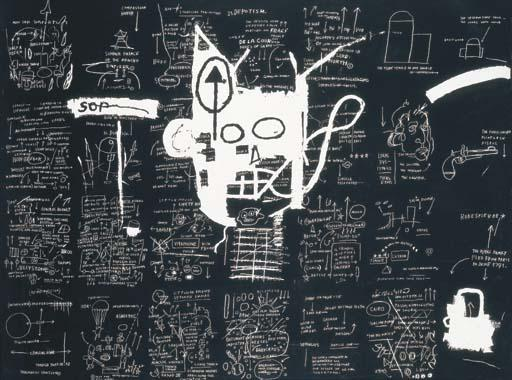 Jean-Michel Basquiat-Return of the Central Figure-1983