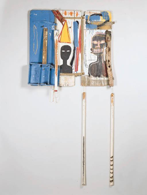Jean-Michel Basquiat-Untitled (Worker's Belt Pack)-1985