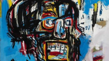 Jean-Michel Basquiat - Untitled (detail), 1982