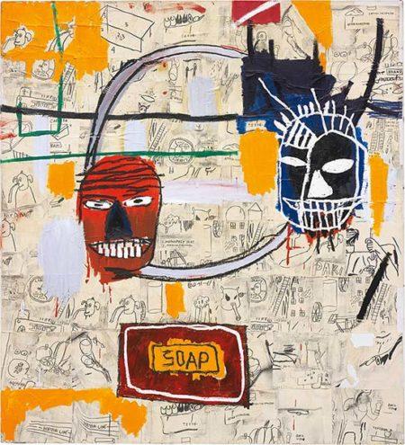 Jean-Michel Basquiat-Untitled (Soap)-1983