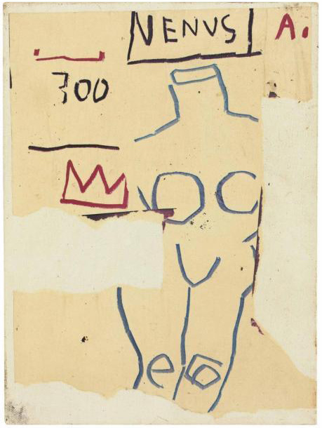 Jean-Michel Basquiat-Venus-1982