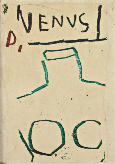 Jean-Michel Basquiat-Venus (JEAN MICHEL 82 FOR LIZ X)-1982