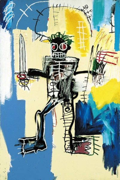 Jean-Michel Basquiat - Warrior, 1982