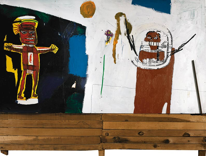 Jean-Michel Basquiat-Water-Worshipper-1984