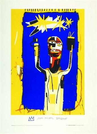 Jean-Michel Basquiat-Welcoming Jeers-1984