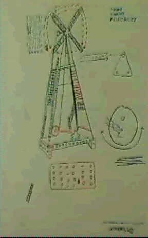 Jean-Michel Basquiat-Windmill-1982