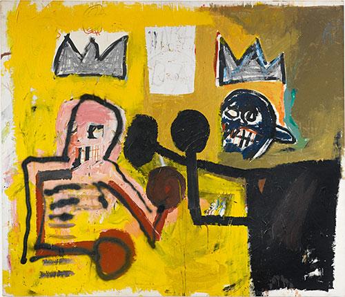 Jean-Michel Basquiat-World Crown-1981