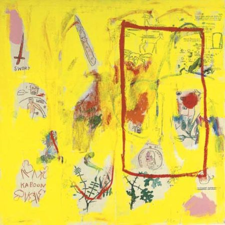 Jean-Michel Basquiat-Yellow-1984