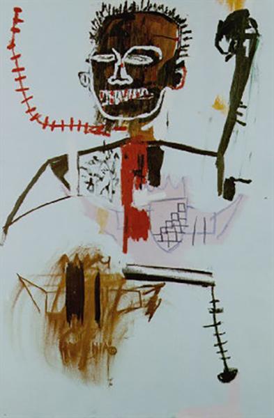 Jean-Michel Basquiat-Zing-1984