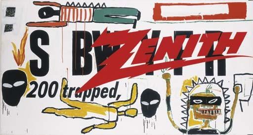 Jean-Michel Basquiat-Andy Warhol-Jean-Michel Basquiat and Andy Warhol - Collaboration No.19-1984