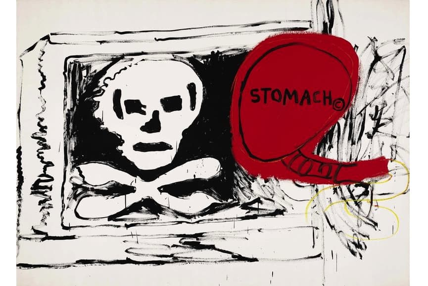 Jean-Michel Basquiat and Andy Warhol - Untitled, 1984-85
