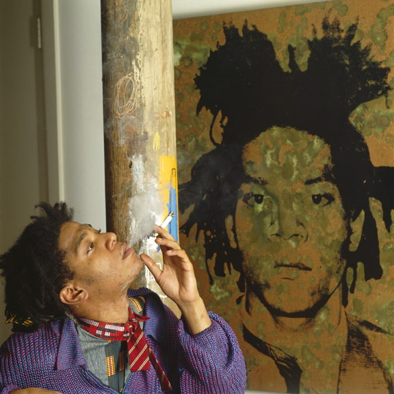 Jean Michel Basquiat paintings painting like home video