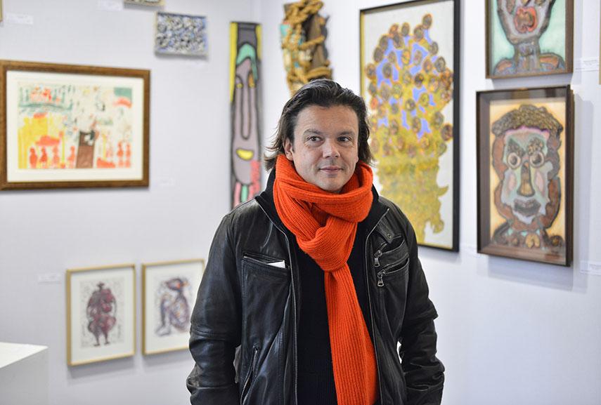 artist Jean-Michel Othoniel, 2016