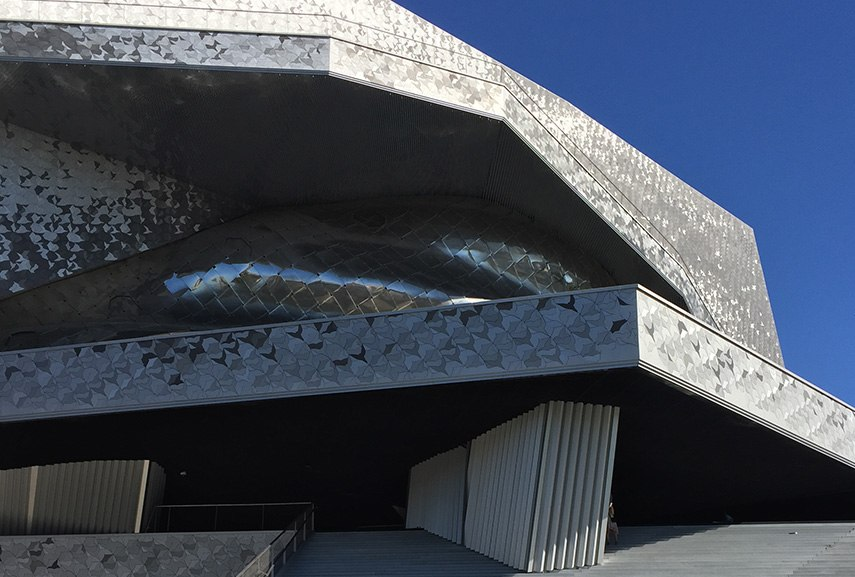 Paris Philharmonie is a representative of modern French architecture
