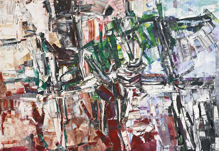 Jean-Paul Riopelle-Untitled-1958