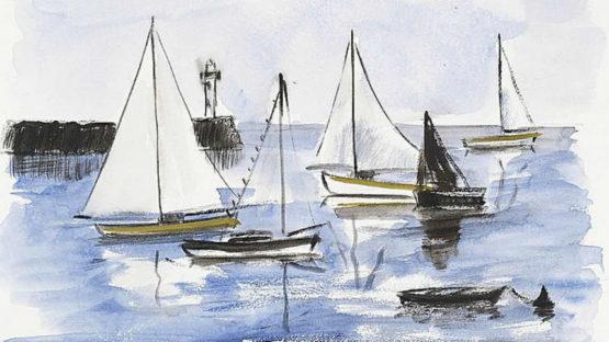 Jean-Pierre Remon - Paysages retrouvés (detail), Image via invaluablecom