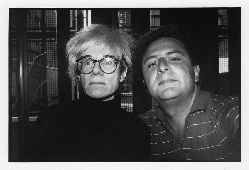 Andy Warhol and ME, 1986