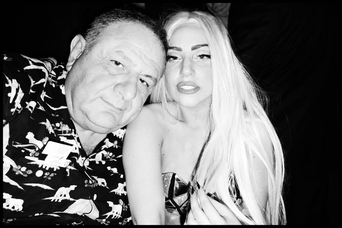 Jean Pigozzi - ME and Lady Gaga, 2012