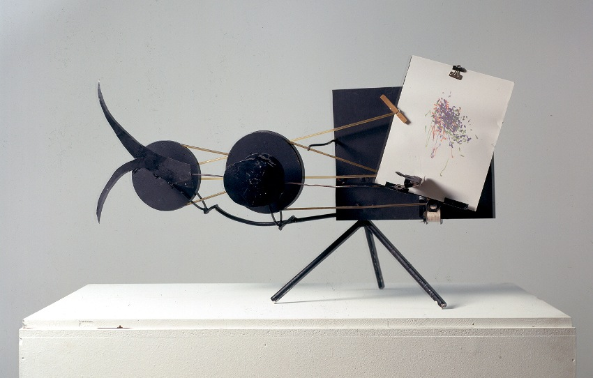 Jean Tinguely - Drawing Machine harmonie arts exhibitions