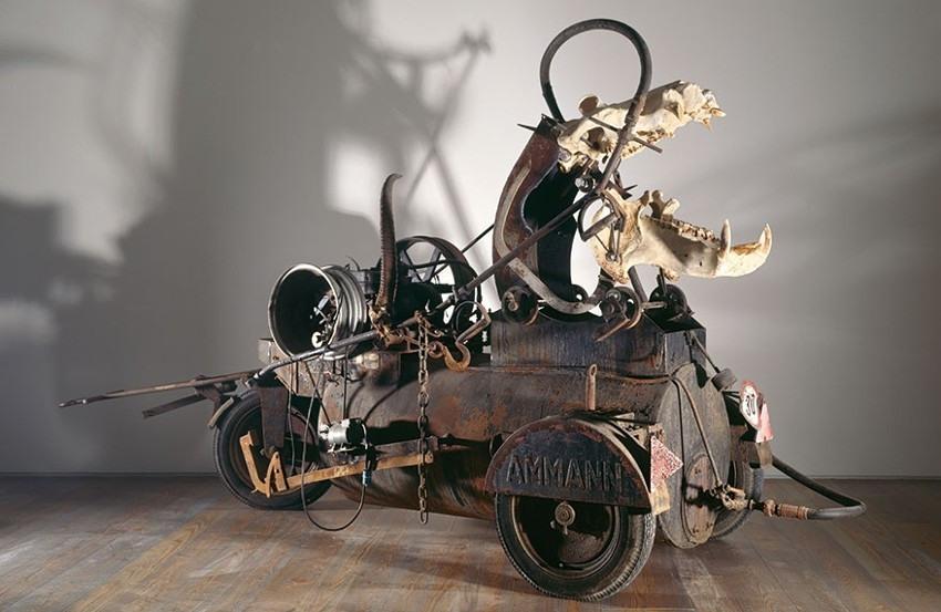 Jean Tinguely - Hippopotamus, 1991, photo credits - Museum Tinguely
