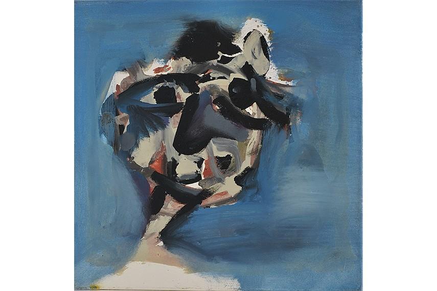 yves paintings 1960 paris work blue monochrome painting 1962 1961 Jean - Yves Klein - artwork