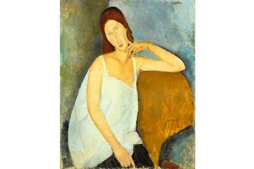 Amadeo Modigliani - Jeanne Hebuterne, 1919