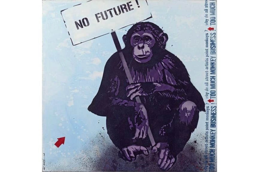 Jef Aerosol - No future, 2003