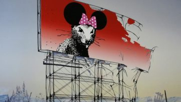 Jeff Gillette - Banksy Minnie Nagasaki, detail