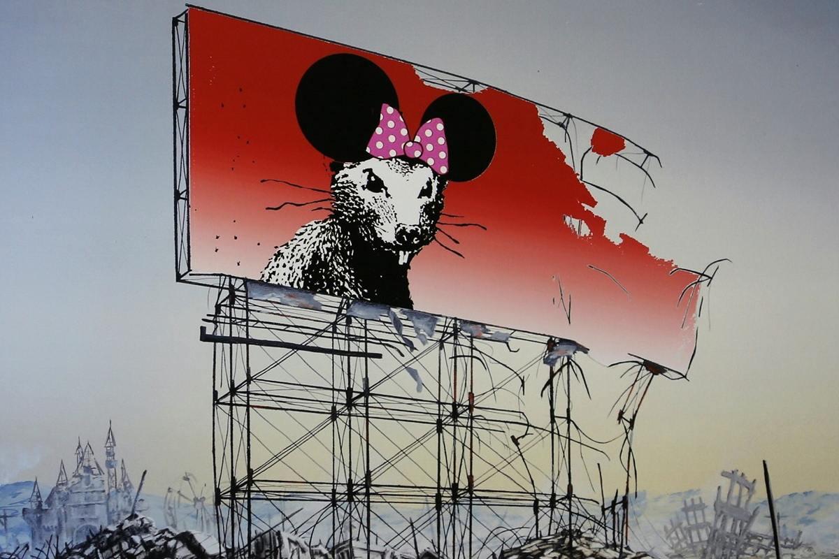 Jeff Gillette - Banksy Minnie Nagasaki, detail