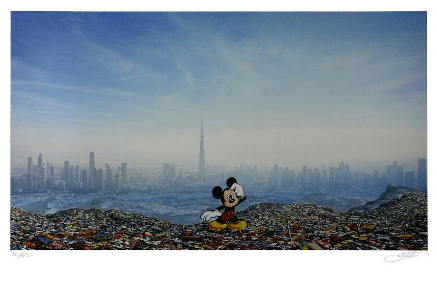 Jeff Gillette - Dubai Landfill Mickey, 2016