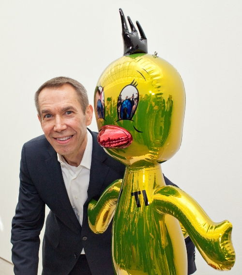 Fashion meets Koons
