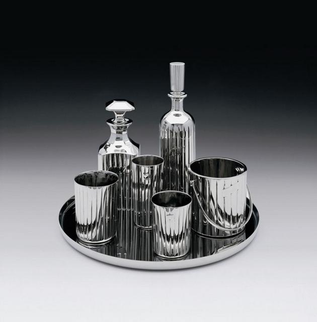 Jeff Koons-Baccarat Crystal Set-1986