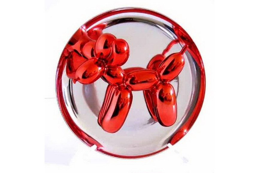 Jeff Koons - Ballon Dog Red 1