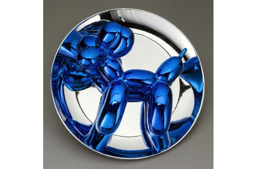 Jeff Koons - Balloon Dog (Blue), 2002