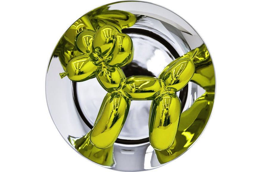 Jeff Koons - Balloon Dog (Yellow), 2015