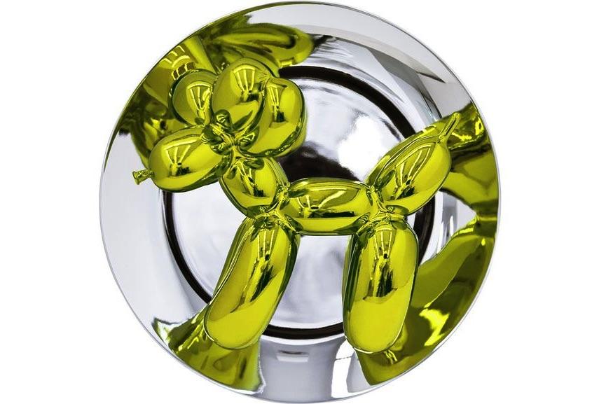 Jeff Koons - Balloon Dog (Yellow), 2015