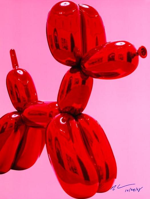 Jeff Koons-Balloon dog-2008