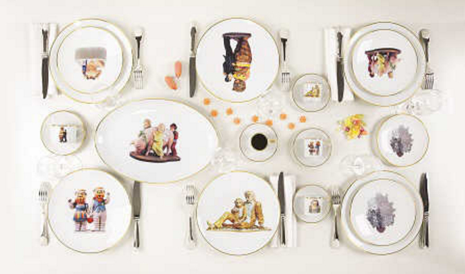 Jeff Koons-Banality Series-
