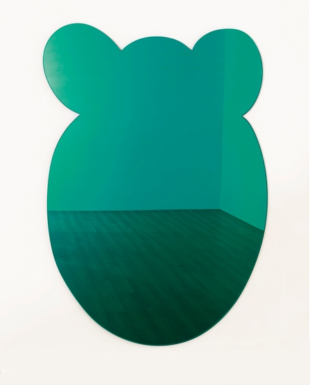 Jeff Koons-Bear (Green)-1999