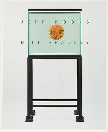 Jeff Koons-Bill Bradley For U.S. Senate-1991