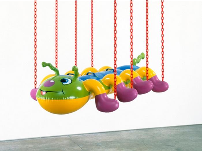 Jeff Koons-Caterpillar Chains-2003