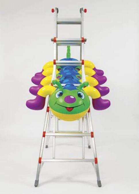 Jeff Koons-Caterpillar Ladder-2003