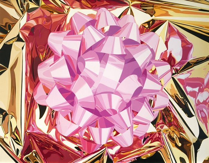 Jeff Koons-Celebration Series (The Pink Bow)-2013