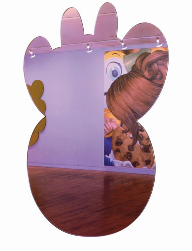 Jeff Koons-Cow (Lilac)-1999