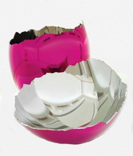 Jeff Koons-Cracked Egg (Magenta)-2006
