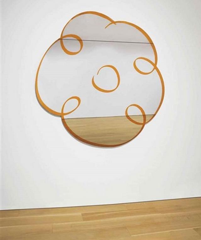 Jeff Koons-Flower Drawing (Orange)-2003