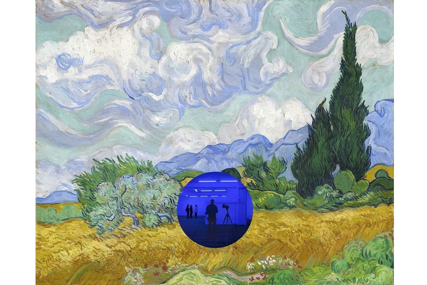 Jeff Koons - Gazing Ball (Van Gogh Wheatfield With Cypresses), 2017