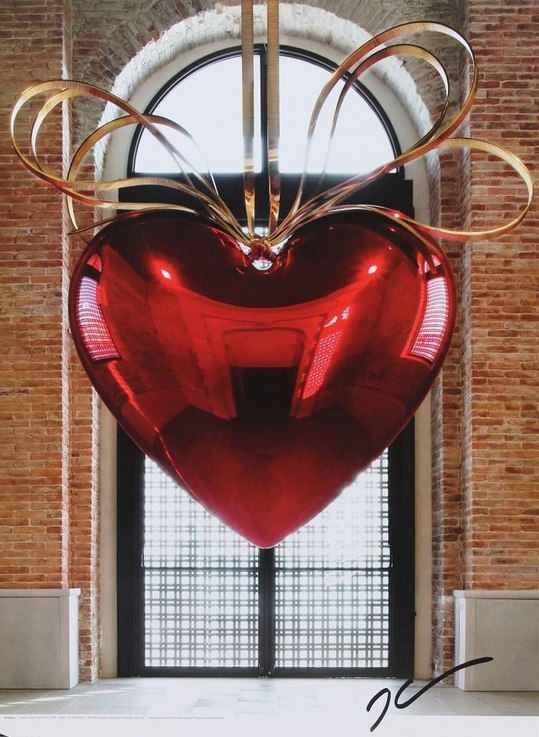 Jeff Koons-Hanging Heart-