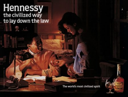 Jeff Koons-Hennessy, The Civilized Way to Lay Down the Law-1986
